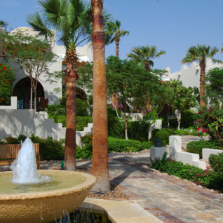 Picture of the garden at the Four Seasons Sharm El Sheikh