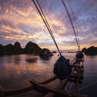 Sunset in Raja Ampat