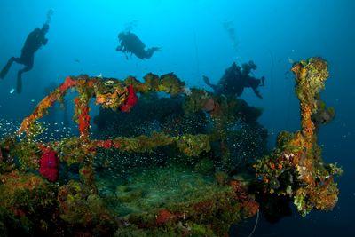 Japanese Wreck, Chuuk Lagoon