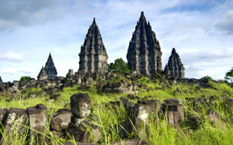 Picture of Prambanan central Java