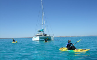 Picture of Sailing at Ningaloo Reef