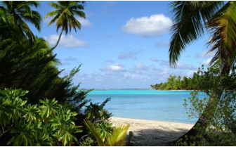 Picture of hidden beach Rangiora