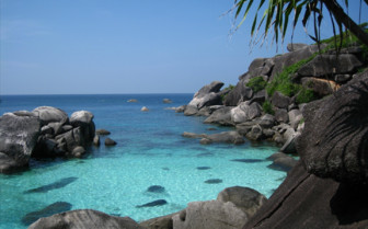 Picture of Similan Island rocky seaside
