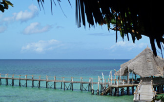 Picture of Pier on Pemba Island