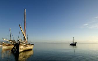Picture of Boats in the sea Mafia Island