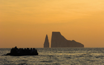 Picture of the Galapagos seascape