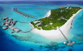 Six Senses Laamu Atoll From Above