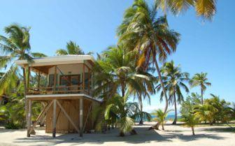Beach villa on the Cayes