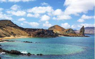 Crater Pinnacle, Galapagos