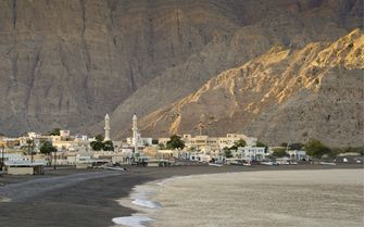 Oman beach village