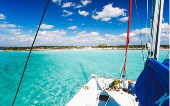 Exuma view, Bahamas