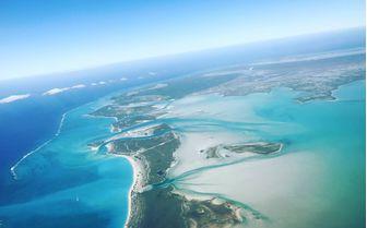 Exuma Islands Aerial View