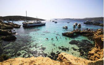 Gozo lagoon