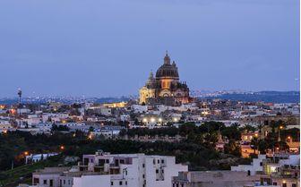 Gozo Church Sunset