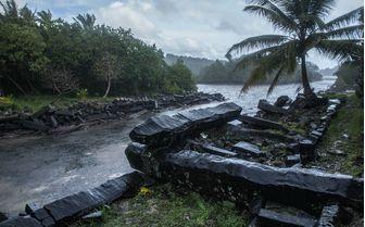 Ruins in Micronesia