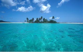 Deserted island in Grenada