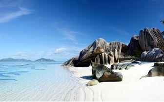 Sandy Seychelles Beach