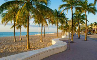 Florida Beach Walk, USA