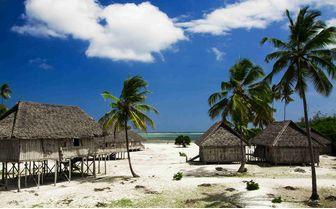 Beach Huts, Zanzibar
