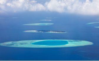 Raa Atoll Aerial, Maldives