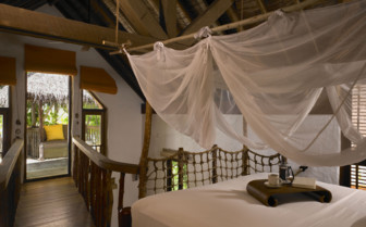 Picture of a Villa Bedroom at Soneva Fushi