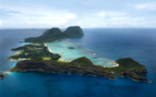 Picture of aerial view of Lord Howe Island