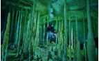 Picture of cave diving in Mexico