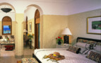 Picture of a suite bedroom at the Oberoi Sahl Hasheesh