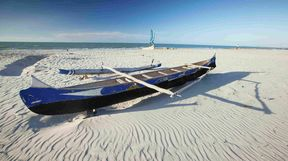 Boat on Beach, Mozambique