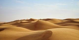 View of the Desert, Oman