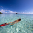 Picture of snorkelling in Fiji