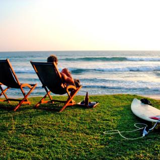 Ocean at Apa Villa Thalpe, luxury hotel in Sri Lanka
