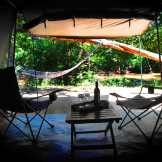 Tent at Leopard Safari Yala Camp, luxury camp in Sri Lanka
