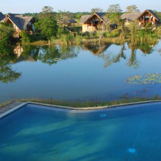 Vil Uyana, luxury hotel in Sri Lanka