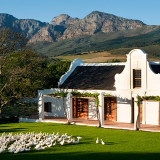 Babylonstoren, luxury hotel in South Africa