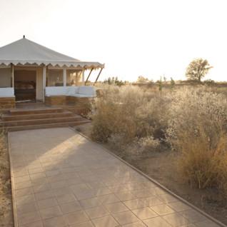The Serai, luxury hotel in India
