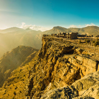Alila Jabal Akhdar, luxury hotel in Oman