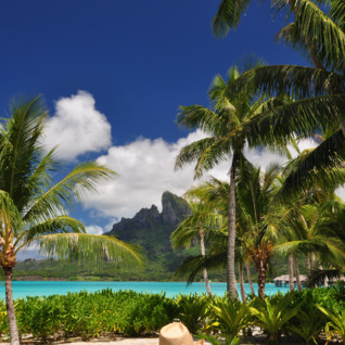 Picture of an amazing view in Bora Bora