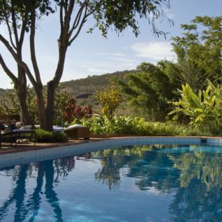 The Pool at Plantation Lodge, luxury lodge in Tanzania