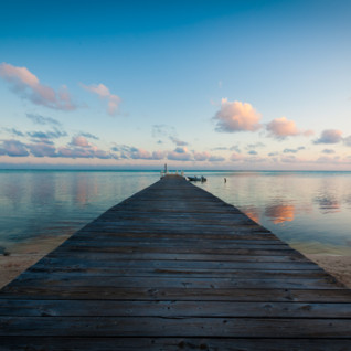 Picture of Beautiful pier at Cayman Islands