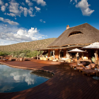 Tswalu, luxury safari camp in South Africa