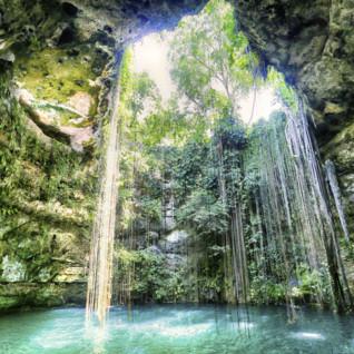Cenote, Yucatan Peninsula, Mexico