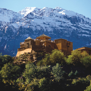 Hotel in the Atlas Mountains