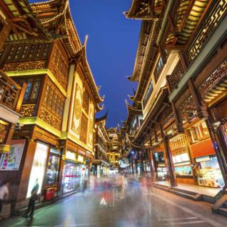 A Street in Yuyunan Gardens