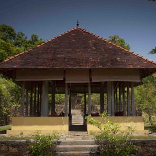 Living Heritage Koslanda courtyard