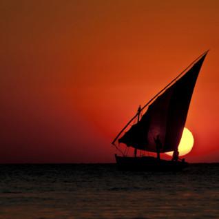 Dhow boat in Kenya