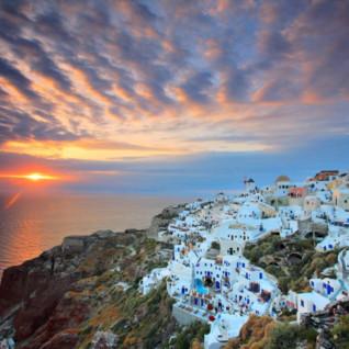 Santonrini Sunset
