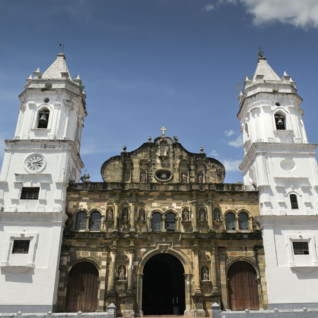 Panama city cathedral