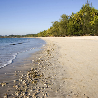 Sandy Beach at Ngapali