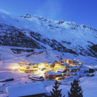 Tyrolean Alps houses